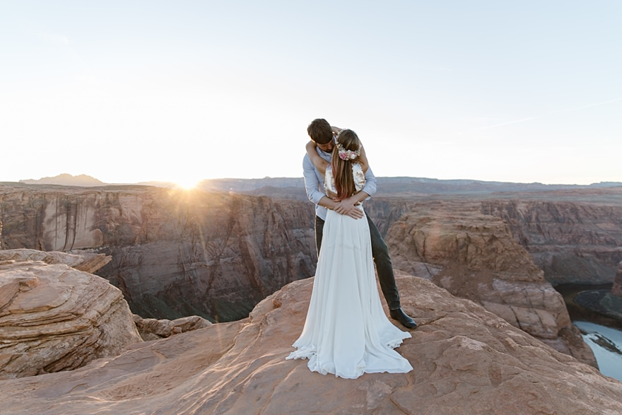Wedding Horseshoe Bend Antelope Canyon
