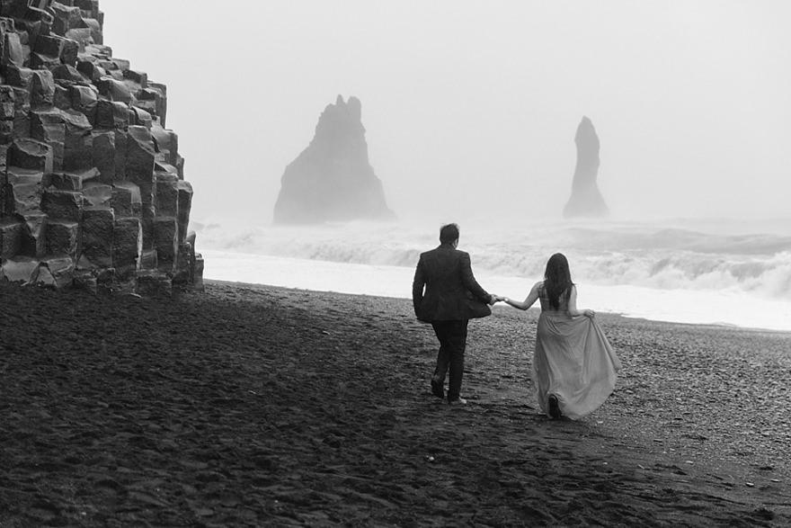 Iceland Destination Elopement Wedding Photographer Alternative