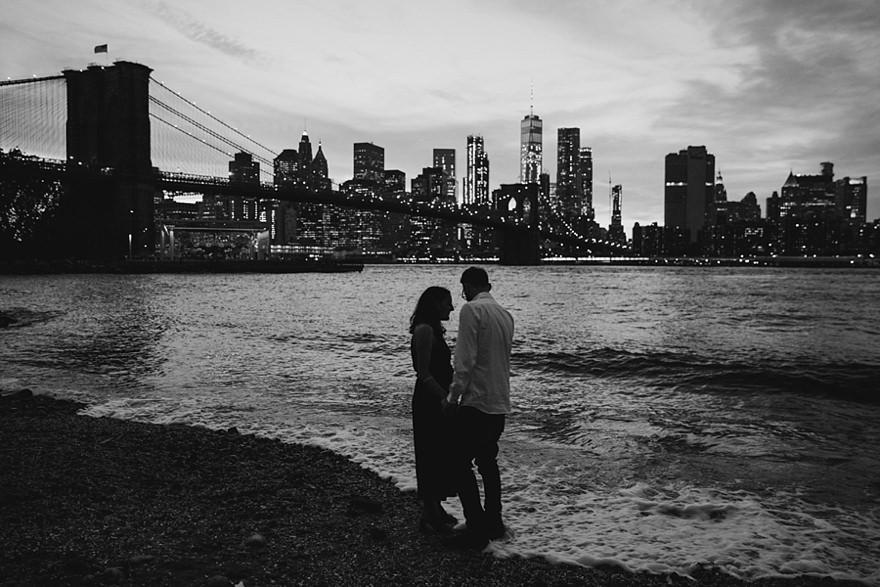 Brooklyn engagement photoshoot | Alternative London UK Wedding