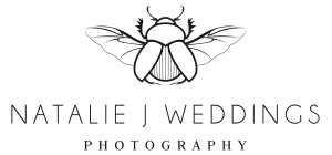 Natalie J Weddings – Alternative & Documentary London Wedding Photography logo